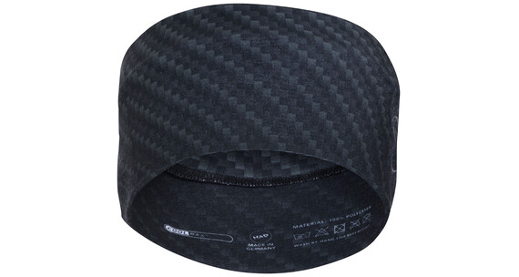 HAD Coolmax hoofddeksels zwart/zilver